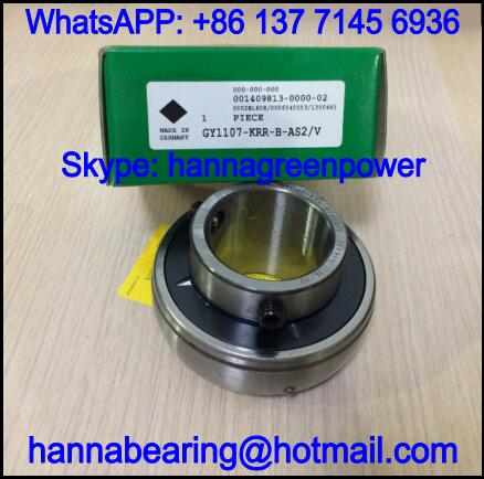 GY1112KRRBW Inch Radial Insert Ball Bearing 44.45x85x49.2mm
