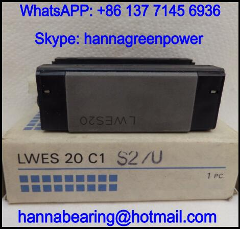 LWES20C1HS2 Linear Guide Block / Linear Way 42x67x28mm