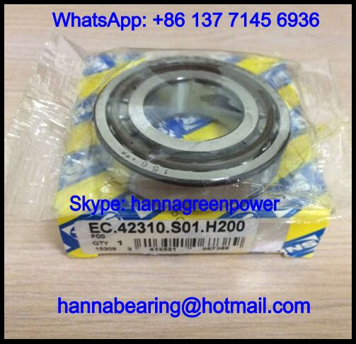 EC42310S01H200 Tapered Roller Bearing / Gearbox Bearing 25x51.45x14mm