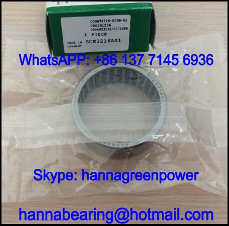 SCE1616AS1 Inch Needle Roller Bearing with Lubrication Hole 25.4x31.75x25.4mm