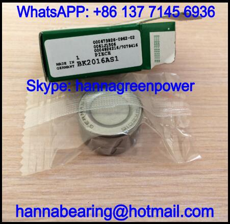 BK3038AS1 Closed End Needle Bearing with Lubrication Hole 30x37x38mm