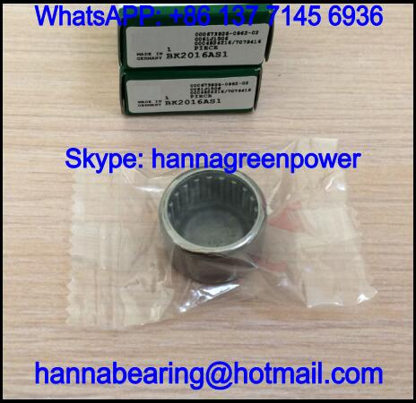 BK4520AS1 Closed End Needle Bearing with Lubrication Hole 45x52x20mm