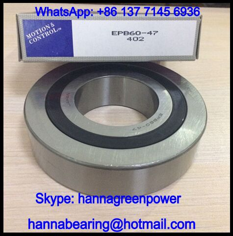 EPB60-47VV High Speed Motor Bearing / Ceramic Ball Bearing 60x130x31mm