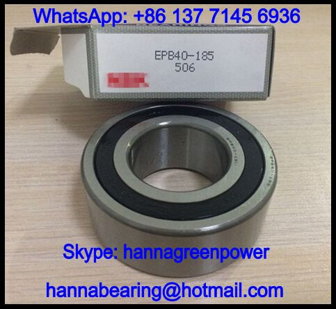 EPB40-185 Ceramic Ball Bearing / High Speed Motor Bearing 40x80x30mm