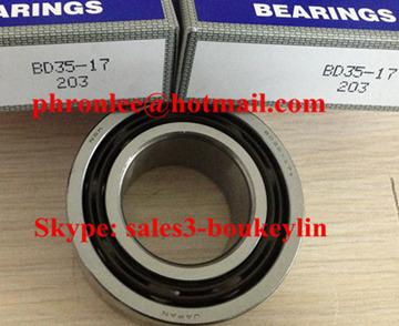 BD20-15DDEN Angular Contact Ball Bearing 20x37x15mm