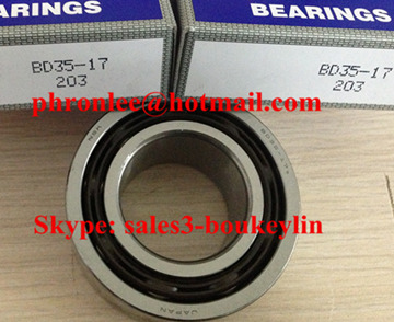 BD20-15T12DD Angular Contact Ball Bearing 20x37x15mm