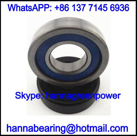 MG207FFA Forklift Bearing with Cylindrical Outer Ring 35x81.864x27.1mm