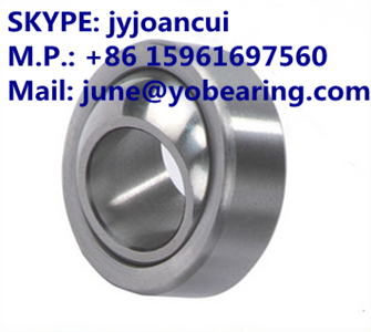 GE65-SX Angular contact spherical plain bearing 65*100*23mm