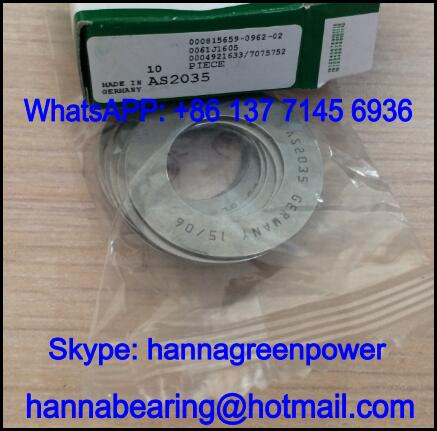 AS0414 Thrust Needle Roller Bearing Washer 4x14x1mm