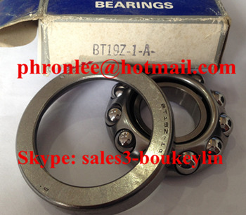 BT19Z-1A Angular Contact Ball Bearing 19.5x47x13mm