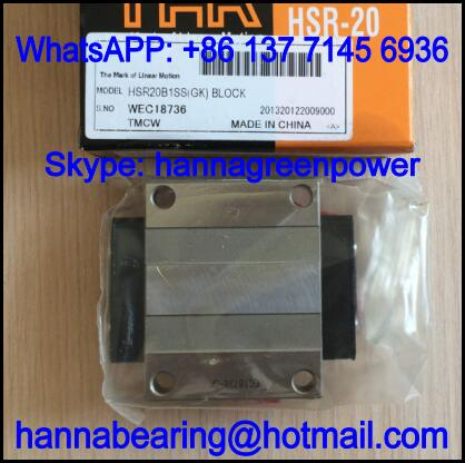 HSR15B1SSM(GK) Linear Guide Block / Slide Block 47x56.6x24mm