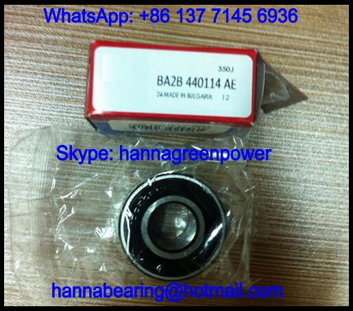 BA2B 440114 Wheel Hub Bearing / Angular Contact Ball Bearing 15x35x20mm