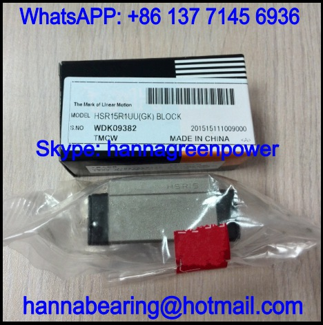 HSR30LR1UUM Slide BLock / Linear Guide Block 120.6x60x38mm