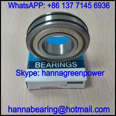 AC6308 Deep Groove Ball Bearing with Antislip Strip 40x90x23mm