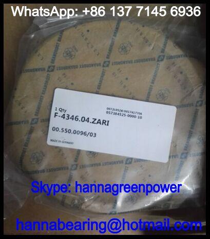 F-4346.04 ZARI Thrust Roller Bearing / Printing Machine Bearing 110*130*25mm