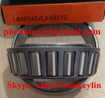 LM12748/LM12710 Tapered Roller Bearing 21.43x45.237x15.494mm