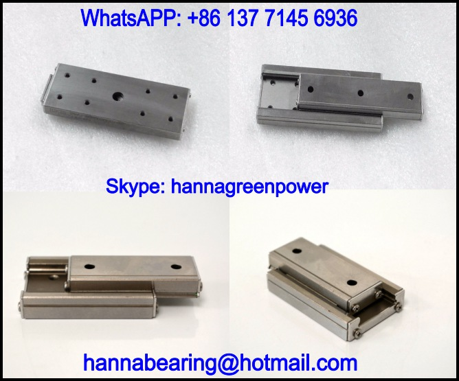 BWU25-45 Stainless Linear Ball Slide / Linear Motion Bearing 25x45x9mm
