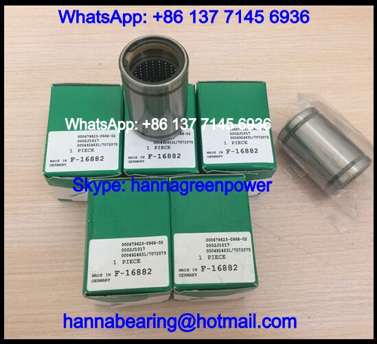 F-16882 Linear Bushing / Printing Machine Bearing 25*36*55mm