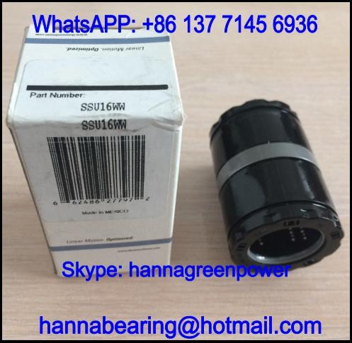 SSU24W Linear Ball Bearing / Ball Bushing Bearing 38.1x60.325x76.2mm