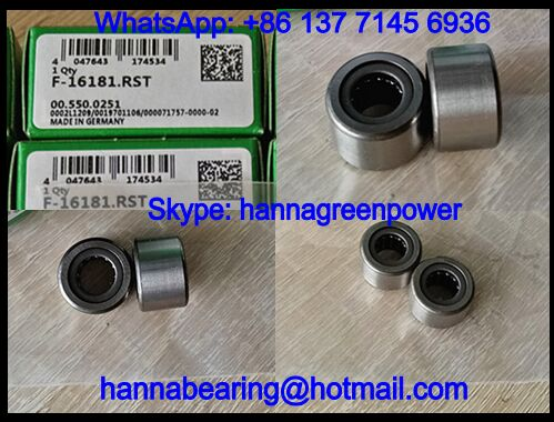 F-16181 Needle Roller Bearing / Printing Machine Bearing 8x17x11mm