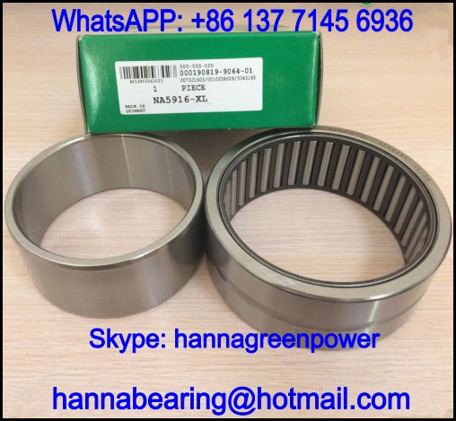 NA5909-XL Single Row Needle Roller Bearing 45x68x30mm
