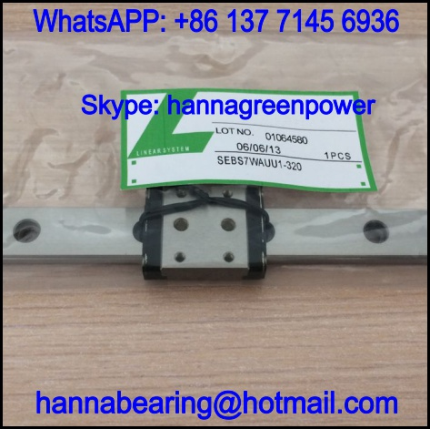 SEBS7WA1-320 Linear Guide Block with Rail