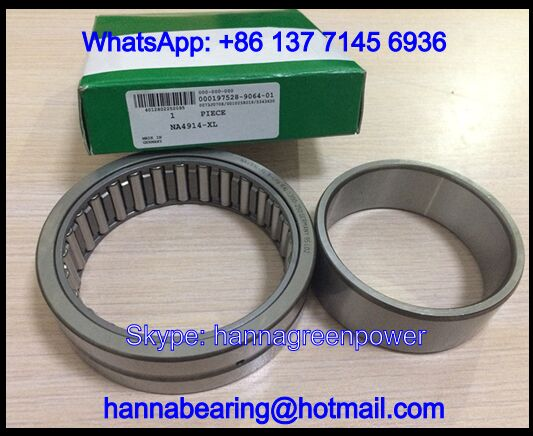 NA4906-RSR-XL Needle Roller Bearing With Inner Ring 30x47x17mm
