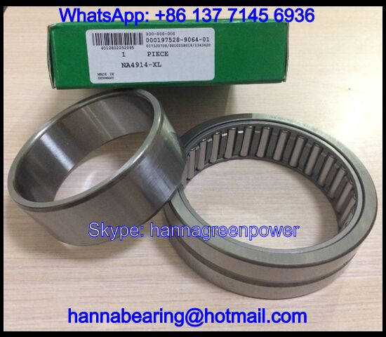 NA49/28 Needle Roller Bearing With Inner Ring 28*45*17mm