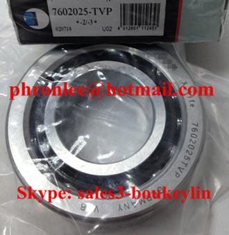 7602025-2RS Angular Contact Ball Bearing 25x52x15mm