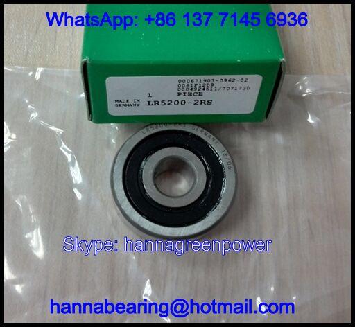 LR5002-2RS Cam Follower Bearing / Track Roller Bearing 15*35*13mm