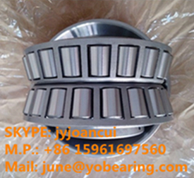 655/654D double row tapered roller bearing 69.85x152.4x95.25mm