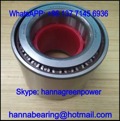 46T080705CCS33 Wheel Hub Bearing / Tapered Roller Bearing 38*65*52mm