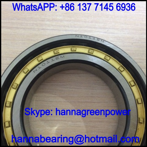N1011E Cylindrical Roller Bearing 55*90*18mm