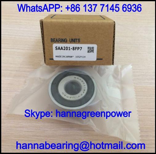 SAA211-35FP7 Insert Ball Bearing with Eccentric Collar Lock 55.563x100x48.4mm