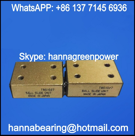 TBS1340 Linear Ball Slide / Linear Motion Bearing 25x42.4x13mm