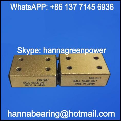 TBS25125 Linear Ball Slide / Linear Motion Bearing 66x130.6x25mm