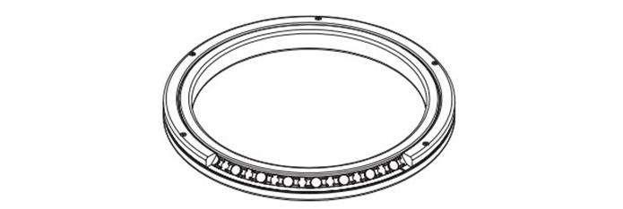 Cross roller bearing RB24025UUCC0P5