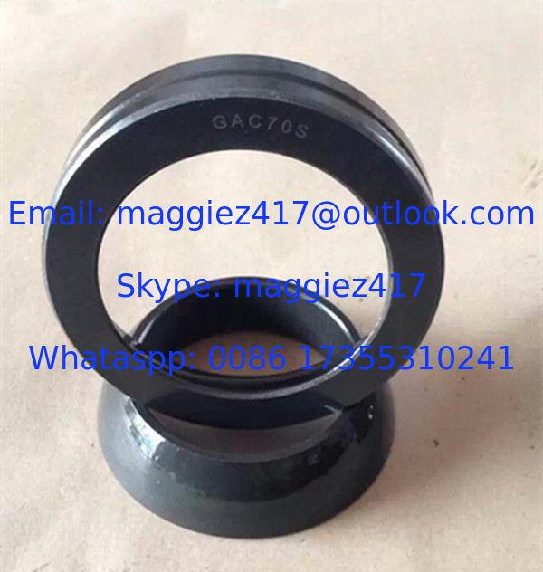 GAC170T self-lubricating Bearing 160x240x51 mm angular contact spherical plain bearing GAC 170T
