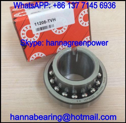 11208TV Wide Inner Ring Type Self-Aligning Ball Bearing 40x80x56mm