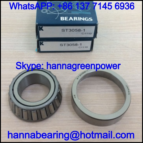 KE ST3058-1 LFT Single Row Taper Roller Bearing 30*58*15.4/20mm