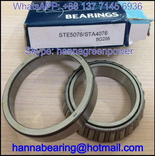 STE5076/STA4076 Automobile Bearing / Tapered Roller Bearing 50x76x20.5mm