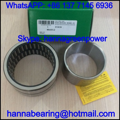 NA6921-XL Double Row Needle Roller Bearing 105x145x75mm