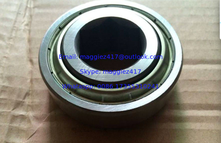 GW214PPB4 Square bore non-relubricable agricultural bearing Size 50.8x125x39.68 mm
