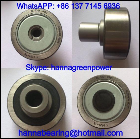 ZL5207KRDU / ZL 5207 KRDU Track Roller Bearing / Cam Follower 35*80*69.2mm