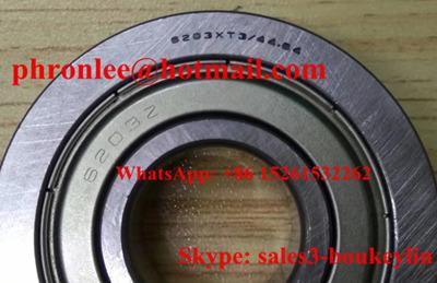 6203Z/44.84 Deep Groove Ball Bearing 17x44.84x12mm