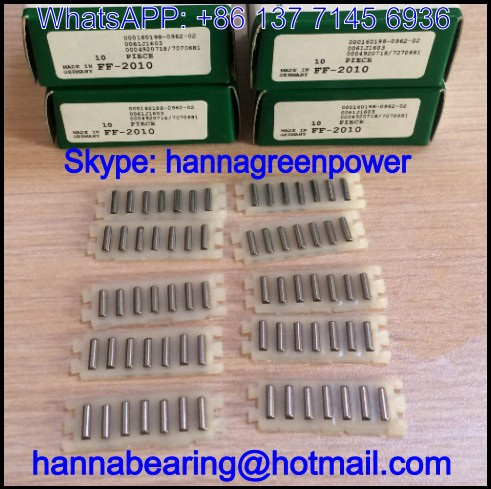 FFW2535 / FFW-2535 Angled Needle Roller Flat Cage / Linear Flat Roller 20.5x45x2.5mm
