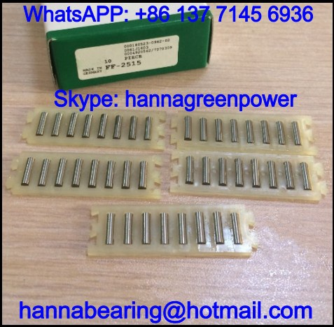FF3020 / FF-3020 Linear Flat Roller / Linear Bearing / Needle Roller Flat Cage 20x60x3mm