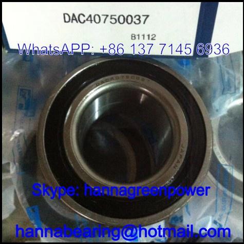 DAC4075037 Wheel Hub Bearing / Angular Contact Ball Bearing 40x75x37mm