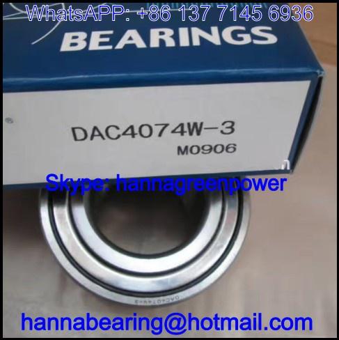 DAC4074W-3 Automobile Bearing / Wheel Hub Bearing 40x74x42mm