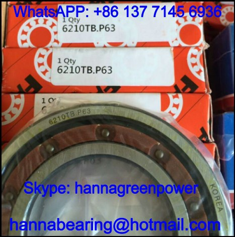 6320TB.P63 / 6320TBP63 High Speed Deep Groove Ball Bearing 100*215*47mm